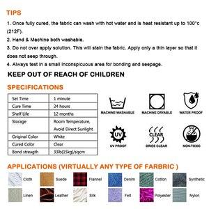 Image 5 - גבוהה באיכות לנקות מאובטח תפר נוזל תפירה פתרון ערכת אין לתפור דבק מהיר Tack אין לתפור מטבח מנקה Dropship מכירה לוהטת