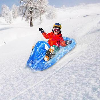 Children's inflatable skis snowboards environmental protection thickening cold-proof winter outdoor skiing supplies