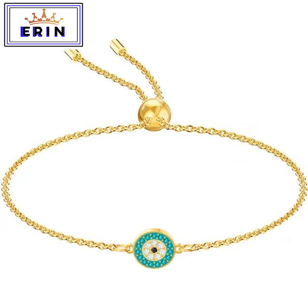ERIN  High quality SWA fashion simple round green women's Bracelet