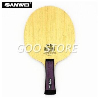 цена на SANWEI FC3 Table tennis blade 5 plywood+ 2 kevlar quick attack loop professional OFF+ ping pong racket bat paddle