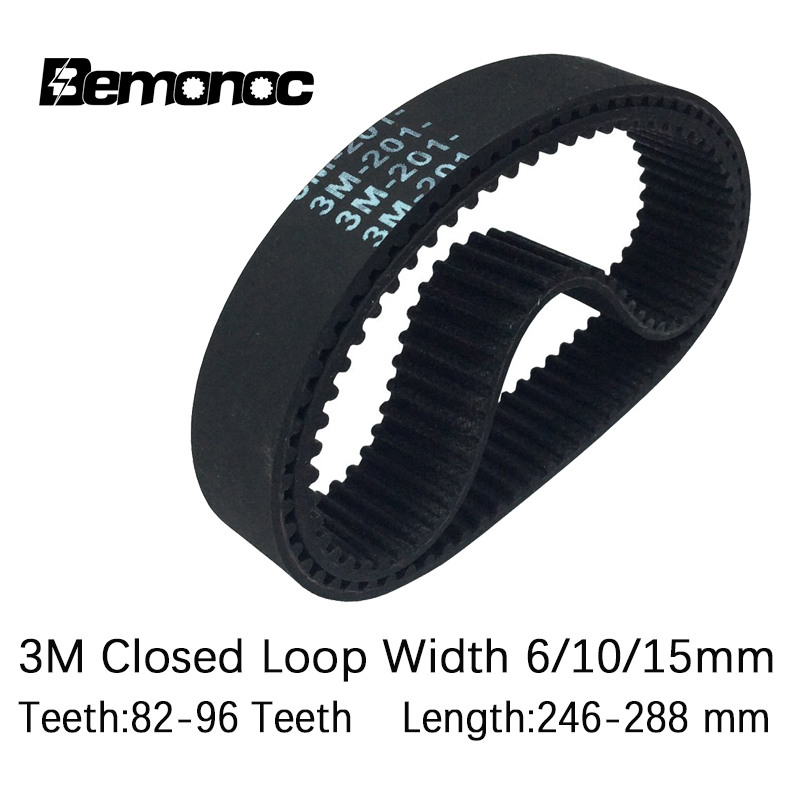 HTD 3M-522//525//537//540//549  Synchronous Wheel Close Loop Timing Pulley Belt
