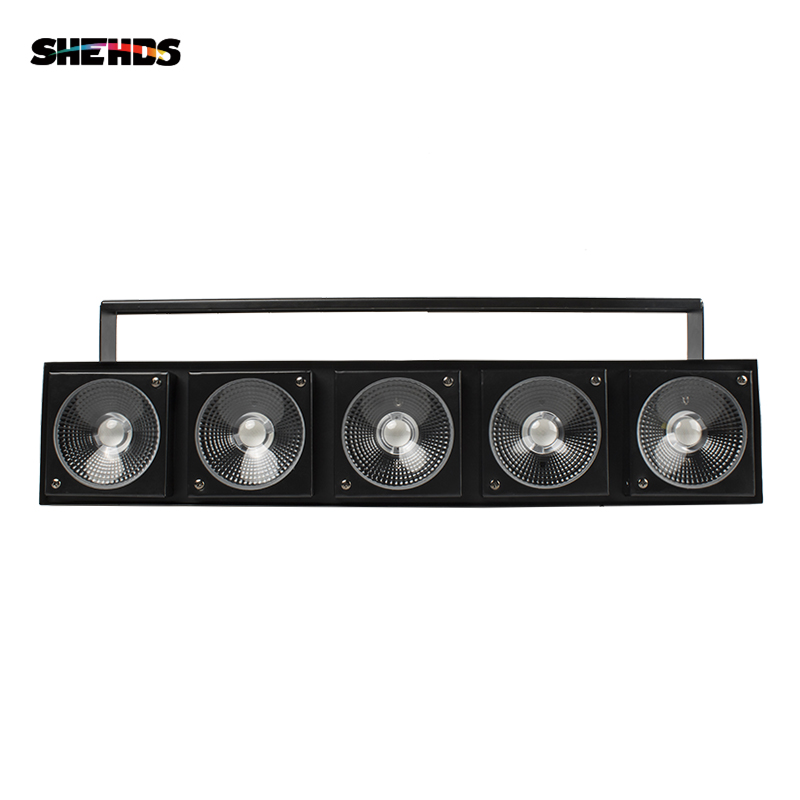 SHEHDS LED 5X30W Matrix Stage Light 3IN1 RGB Five Heads DJ Matrix Light Light Design Good For DJ/Professional DMX Stage Lighting