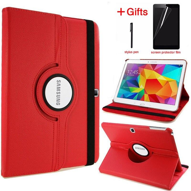 Case For Samsung Galaxy Tab 4 10.1 T530 T531 Folio Pu Leather Stand Smart Capa Tab 4 10 T535 SM-T530 T533 SM-T531 SM-T535 Cover
