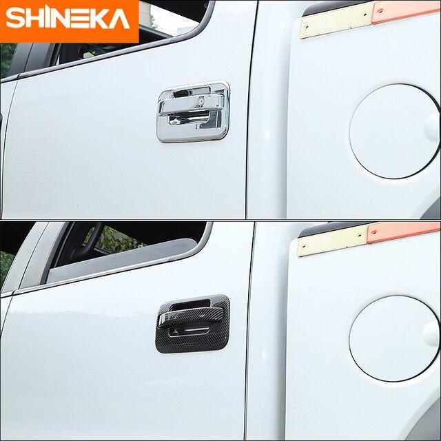 shineka автомобильные наклейки для ford f150 наружная ручка фотография
