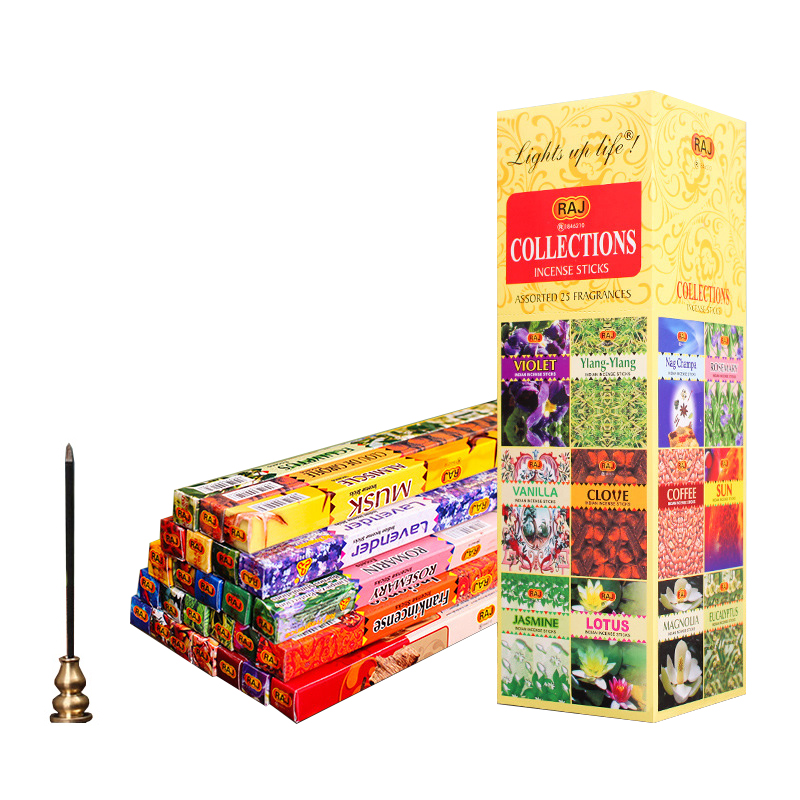 Mixed Smells Indian Incense Sticks Wholesale Lots Bulk Stick Incense 8 Sticks/tube Buddhist Scents For Home Dropshipping