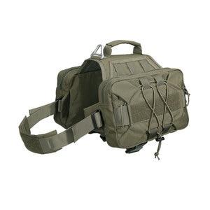 Image 4 - EXCELLENT ELITE SPANKER Dog Pack Hiking Backpack Dog Saddle Bag  for Camping Medium & Large Dog with 2 Capacious Sides Pock