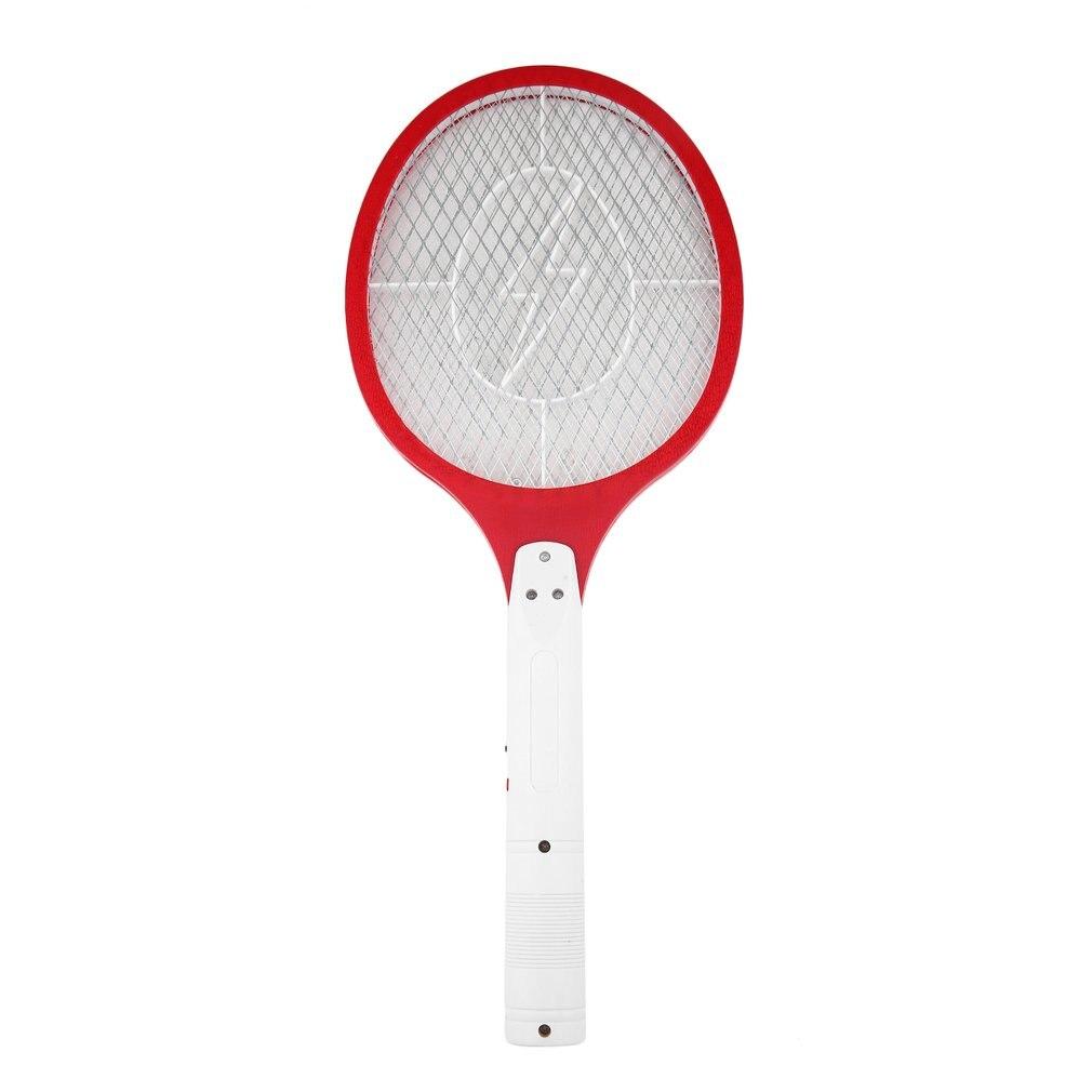 Рука комар убийца ракетка 3 слоя сетка аккумулятор светодиод электрический насекомое ошибка муха мухобойка репеллент сад вредители борьба