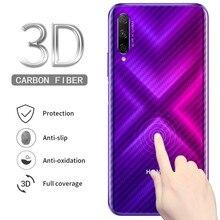 5 pçs voltar capa completa de fibra carbono filme protetor de tela para huawei honor 9x 8x 10 lite 10i ver 20 jogar nova 5 5i pro p inteligente