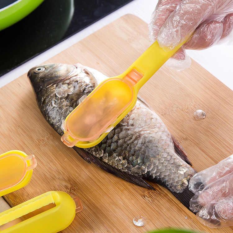LemonBest Polivalente Creativa Cucina di Casa Giardino Strumento di Cottura Comodo Pulito Raschiando Bilancia Uccidere I Pesci Con La Lama Macchina