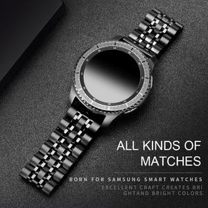 Image 1 - 20MM 22MM الفولاذ المقاوم للصدأ الفرقة ووتشلسامسونج غالاكسي (42/46)العتاد S3 / S4 / S2 الحدود / الكلاسيكيةاستبدال Watchbandالإفراج السريع