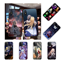 NBDRUICAI Angels of Death Cartoon DIY Painted Bling Phone Case for iPhone 11 pro XS MAX 8 7 6 6S Plus X 5S SE XR case(China)