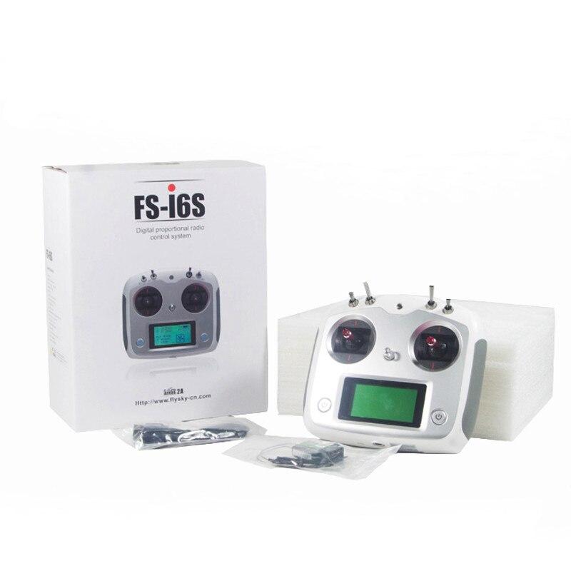 FLYSKY FS-i6S I6S 2.4G 10CH AFHDS 2A Centering Throttle Transmitter IA6B A8S IA10B Receiver RetailBox RC FPV Drone