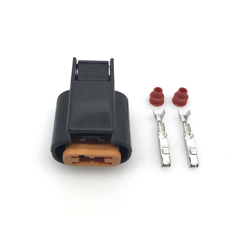 5 Set <font><b>Kum</b></font> Auto 2 Pin PB625-02027 Female ABS Sensor plug Fog Lamp Automotive Wiring Harness <font><b>Connector</b></font> For Mitsubishi Souast image