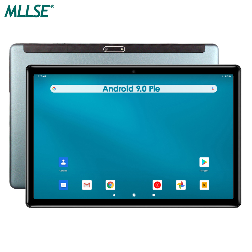 2020 Google Android 9 Tablet 10 Inch 3G Phone Call 32GB EMMC Storage 1280*800 IPS WIFI Tablets 10 Bluetooth Youtube GPS Pad