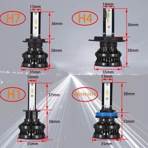 Image 5 - YHKOMS H4 Led 4300K ZES H1 H7 LED 5000K 8000K H8 H9 H11 9005 HB3 9006 HB4 H3 80W 16000LM سيارة المصباح السيارات الضباب ضوء 12V 6500K