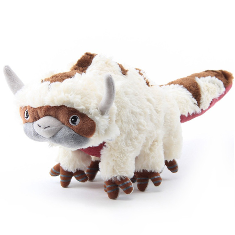 Cute Sleeping <font><b>The</b></font> <font><b>Last</b></font> <font><b>Airbender</b></font> Doll Soft <font><b>Avatar</b></font> APPA Home Decor Birthday Gift Stuffed Animal Fluffy Cattle For Kids Plush Toy image