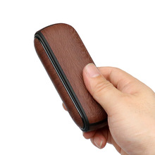Cases + Side Wood Tree Style Full Cover for Iqos 3 Leather Pouch Case Accessories for Iqos 3.0 Bag Holder Cover Accessories