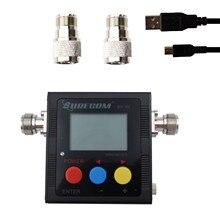 Surecom SW-102 digital vhf/uhf 125-525mhz power & swr medidor e contador de freqüência para o rádio do carro (SW102-VU)