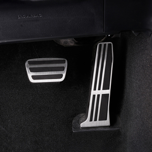 Image 2 - Car Accelerator Pedal Brake Pedal Footrest Pedal Pads Cover Non Slip For Toyota RAV4 Camry Avalon 2018 2019 For Lexus ES GS 2018