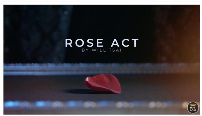 Visual Matrix AKA Rose Act Elegant Gold By Will Tsai And SansMinds-Magic Tricks