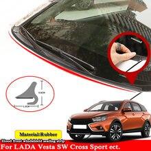 1,8 M Gummi Dichtung Streifen Auto Styling Windshied Spoiler Filler Schützen Rand Dichtungs Für LADA Vesta SW KREUZ Sport ect.