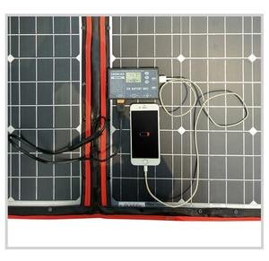 Image 2 - Dokio Flexible Foldable Solar Panel High Efficience Travel & Phone & Boat Portable 12V 80w 100w 150w 200w 300w Solar Panel Kit