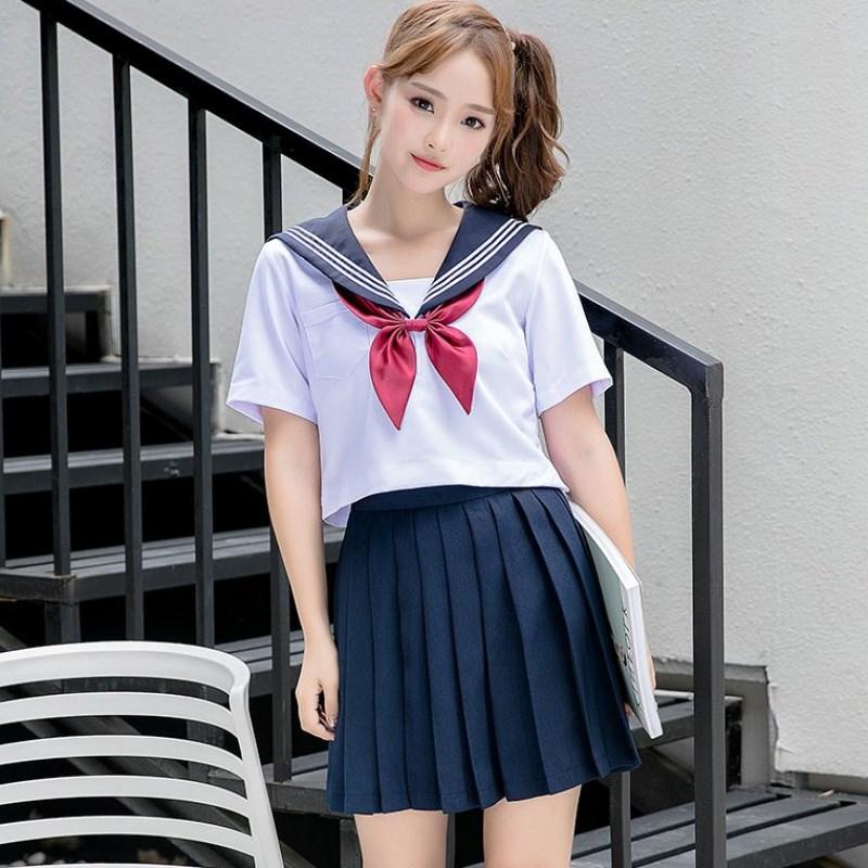 Preppy Navy Plus Size 5XL Sailor School Uniform 2021 New Schoolgirl Uniforms Novelty Women Cosplay Costume Cheerleader Clothing