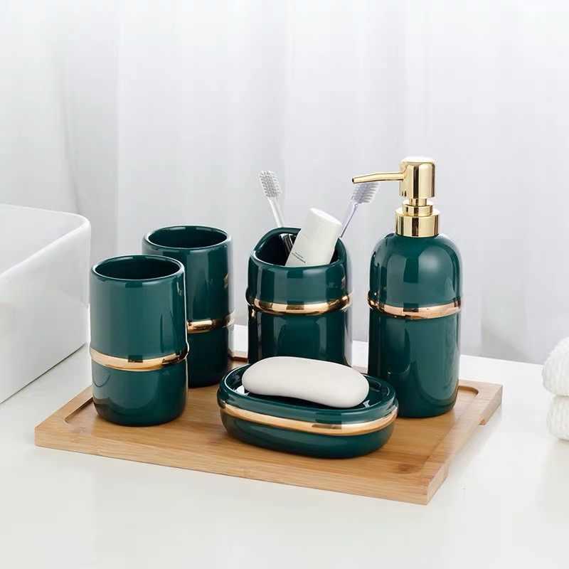 Bathroom Accessories Set Hotel Wash