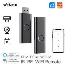 Wifi IR RF Remote Control Universal Go Wireless USB Infrared For TV DVD Fan Tuya Smart Life Alexa Google Home Automation Moes