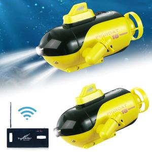 Children Wireless Remote Control Submarine Boat Toy USB Electric Ship Water Toy Travel Realistically On Water For Children Kids