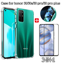 pro stp 30s 3in1,Shockproof Case For Huawei 30 30s 30 pro plus чехол  Airbag phone Case For huawei Honor30 30 s 30pro plus Case хонор30 30s