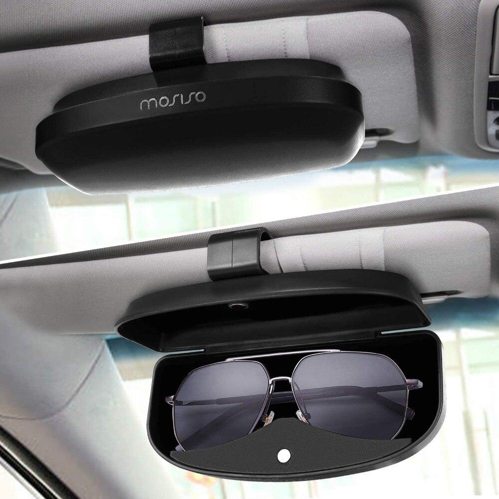 5x Car Sun Visor Sunglasses Clip Eye Glasses Card Receipt Holder Storage Mount