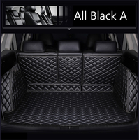 Special made Car trunk mats cargo Liner for Honda HRV HR V Vezel 6D heavy duty perfect case rugs car styling carpet leather line