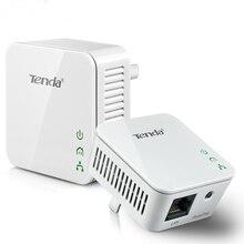 1 пара Tenda P202 300 Мбит/с проводной Мощность линии сетевой адаптер Ethernet PLC Адаптер Комплект Мощность линия IPTV homeplug AV Plug& play