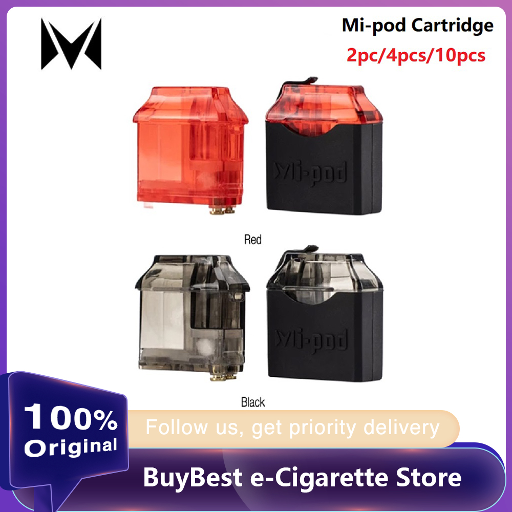 2pcs 10pcs Original Mi-pod Refillable Pod Cartridge 2ml Capacity Mi-Pod Cartridge For Mi-pod Pod Kit/ Wi-PodX Kit Pod System
