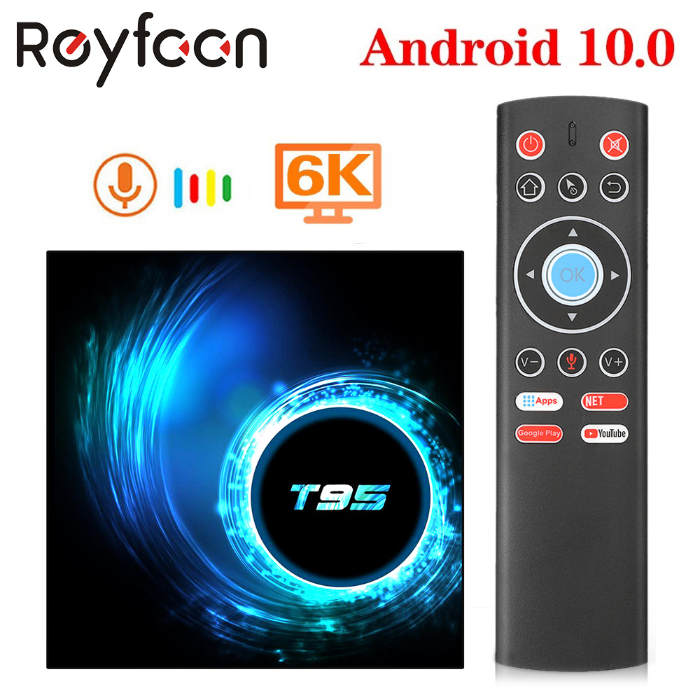 Android 10 0 TV Box T95 4G 64GB Allwinner H616 Quad Core 6K H 265 USB2 0 2 4GHz Wifi Support Google Player Youtube Media player