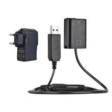 Розничная продажа, Np Fw50, муляж батареи + 5 В, 3 А, Usb Кабель адаптер питания с разъемом питания, замена для Ac Pw20, для Sony Nex 3/5/6/7 Series