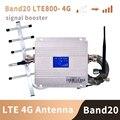 Band 20 4G Verstärker 800 MHZ FDD Europa Handy Signal Booster Handy Verstärker 4g lte 800mhz Repeater Set b20