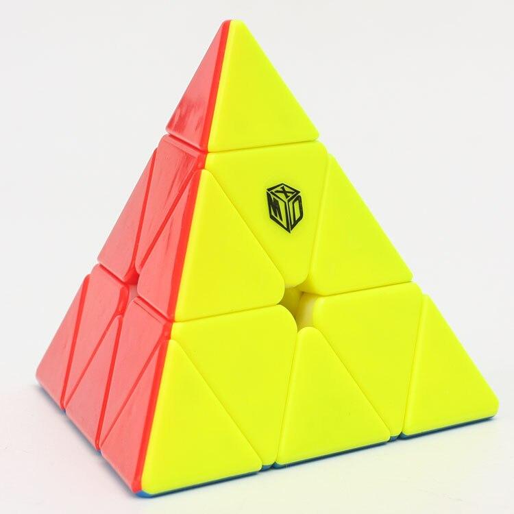 Qiyi mofangge 3x3x3 xman sino magnético jinzita cubo mágico triângulo torção puzzle educação brinquedos para crianças velocidade cubo quebra-cabeça