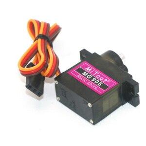 Image 3 - 4 teile/los Mitoot MG90S 9g Metall Getriebe Verbesserte SG90 Digital Micro Servos für Smart Fahrzeug Hubschrauber Boart Auto