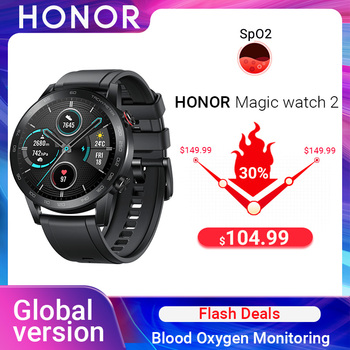 Global Version Honor Magic Watch 2 Smart Watch Bluetooth 5.1 Smartwatch Blood Oxygen monitoring Heart Rate Track for Android iOS