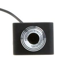 Mini usb 2.0 50.0m pc câmera hd webcam câmera web cam para computador portátil desktop computador remoto escritório vídeo conferência em linha classe