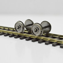 HO Train Wheel Accessories 1/87 Electric Train Car Wheel Universal Modified Parts Bogie Wheel Metal Wheel(China)