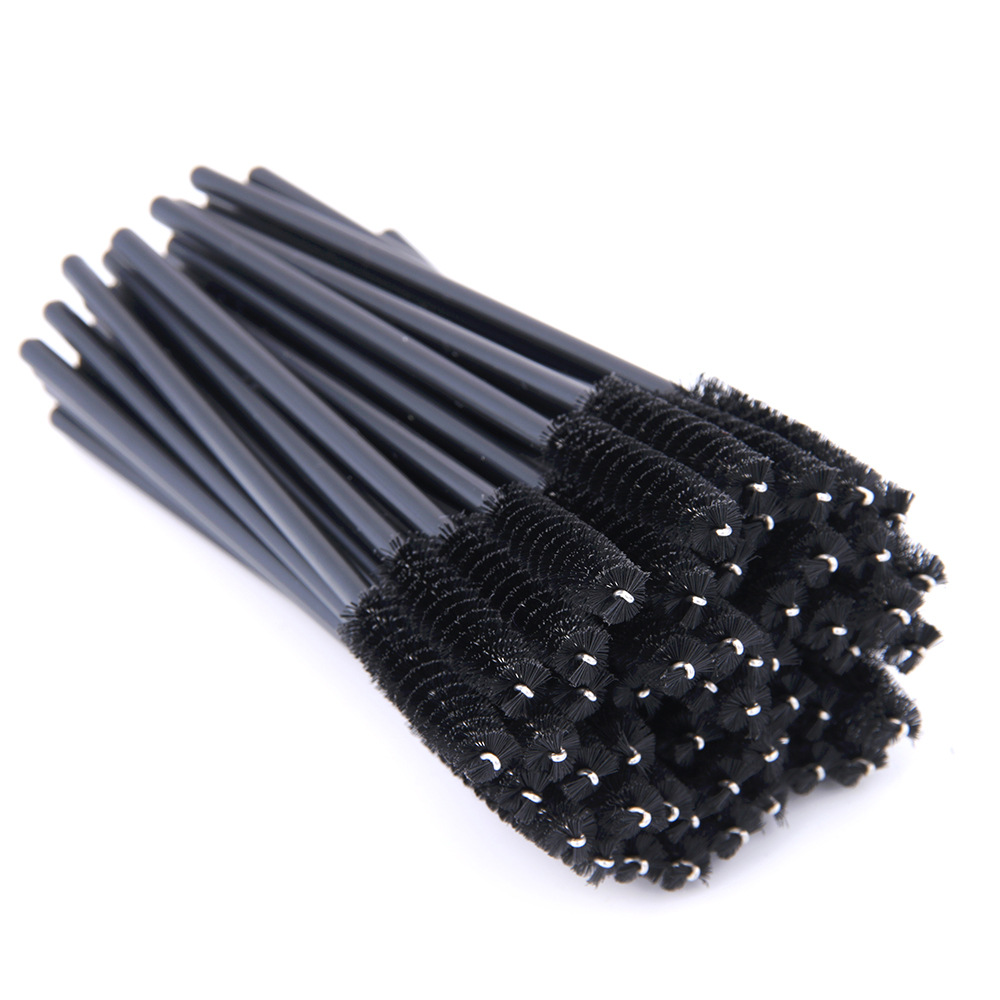 50 Pcs Eyelash Brushes Makeup Brushes Disposable Mascara Wands Applicator Eye Lashes Cosmetic Brush Maquiagem Cilio Makeups Tool