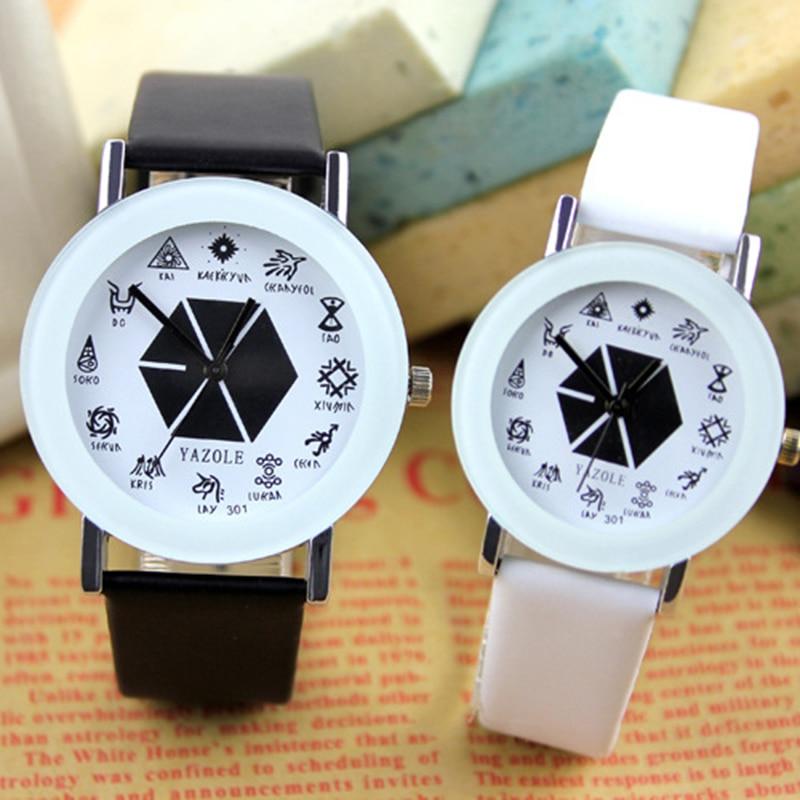 YAZOLE Women Watches Top Brand Korean Sports Couples Watch 2020 Fashion Silicone Strap Sport Wristwatch Men Quartz Clock