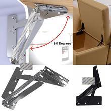 1 пара/лот подголовник дивана откидной шарнир ящик для хранения опорная рама складной диван кровать пружинный шарнир
