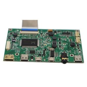 Image 2 - Płyta sterownicza Edp przenośny wyświetlacz lcd HD mini HDMI type c płyta sterownicza 5V zasilacz z gniazdo jack do słuchawek 3.5mm G1009