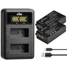 Batterie 1260mAh EN EL20 EN EL20a + double chargeur USB, pour Nikon Coolpix P1000 Nikon1 J1, J2, J3 Nikon1 AW1