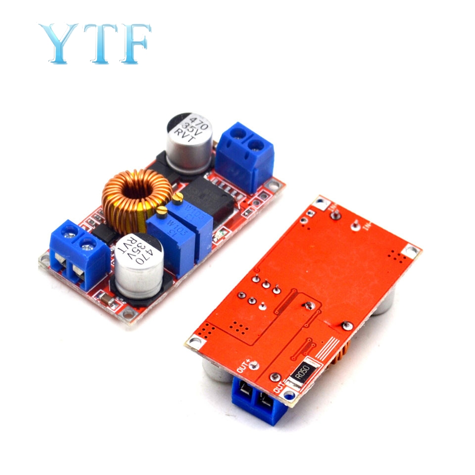 5A Max Step-Down Buck Charging Board XL4015 ADJ Lithium Battery Charger Converter Module DC-DC 0.8-30V To 5-32V