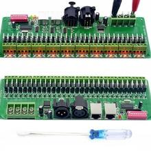 30CH DMX 512 RGB LED Strip Controller DMX Decoder LED DMX Decoder Dimmer Driver DC9V-24V Controller dc 12 24v 2 4g wireless control led rgb dmx decoder touch panel rgb dmx controller decoder remote distance 30m 3 channel 4a ch
